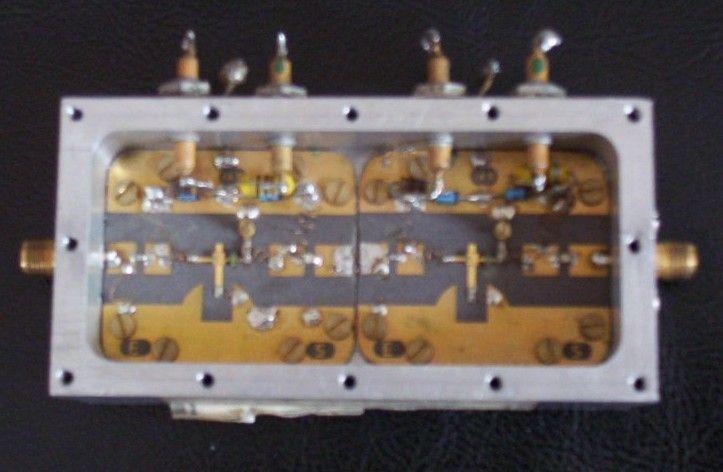 Amplificador basado en FET (AsGa)