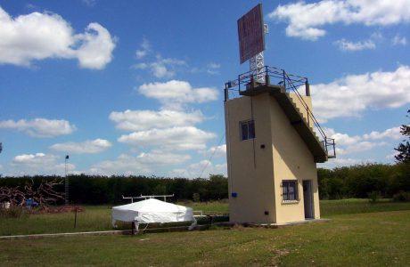 Medición de la antena en el campo lejano