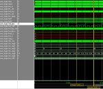 Fig. 6: Simulación del RTC sidéreo. Con 50Hz de entrada se ve como salida 1 seg. o PPS.