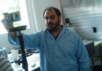 3. Entrevista a Tec. Marín Salibe, responsable de área Analógica, y Responsable Técnico del Instrumento TIR