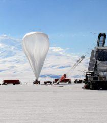 Fig4: Globo del experimento de medición directa CREAM en la Antártida.